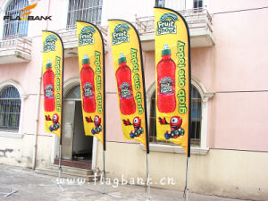 3.4m Tradeshow Aluminium Digital Printing Flying Flag/Feather Flag pictures & photos