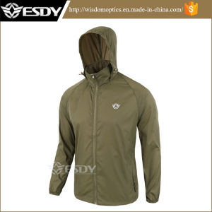 Men′s Hiking Camping Jackets Thin Sports Skin Clothing Apparel pictures & photos
