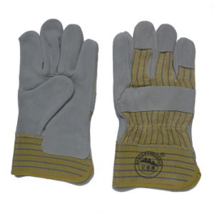 Industrial Leather Working Hand Gloves pictures & photos