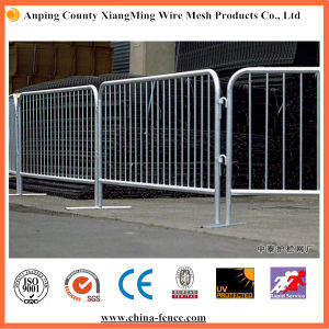Galvanized Steel Crowd Control Barrier for Road Safety pictures & photos