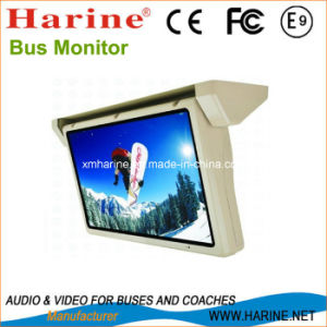 18.5 Inches Motorized Bus/Car LCD Display Monitor pictures & photos