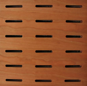 Fireproof Wood Suspend Ceiling Perforated Panels pictures & photos