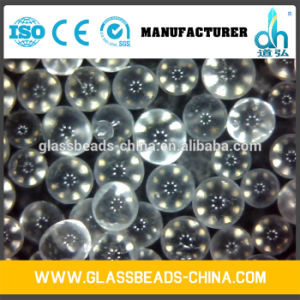 Glass Transparent High Quality Drop on Glass Beads pictures & photos