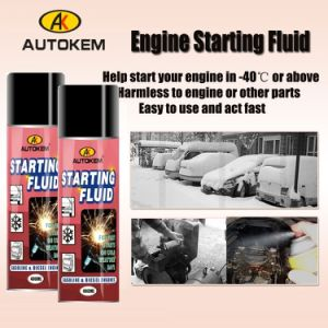 Autokem Quick Starting Fluid, Engine Starting Fluid, Low Temperature Starting Fluid pictures & photos