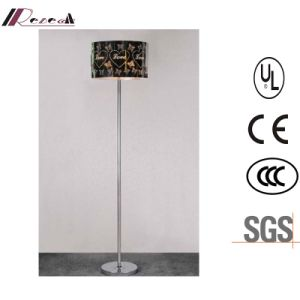 Indoor Standing Floor Lamp with Stainless Steel Shade pictures & photos