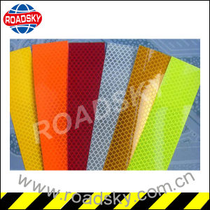 Micro Prismatic Traffic Safety Engineering Grade Adhesive Reflective Tape pictures & photos