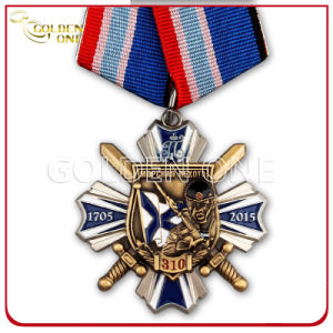 Shiny Style Die Casting Two Tone Finish Souvenir Medal pictures & photos