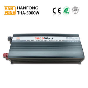 Triple Output Type Power Inverter DC 12V AC 220V 5000W Peak 10000W (THA5000) pictures & photos