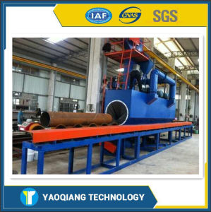 Yq Hot Sale High Efficiency and Conveint H Beam Shot Blasting Machine with CE pictures & photos