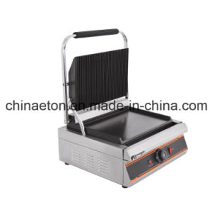 Electric Single Contact Panini Grill ET-YP-1C2 pictures & photos