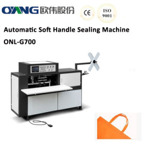 Non Woven Ultrasonic Loop Handle Sealing Machine (AW-G700) pictures & photos