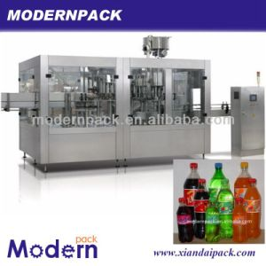 Triad Carbonated Beverage Filling Production Line/Bottling Machine pictures & photos