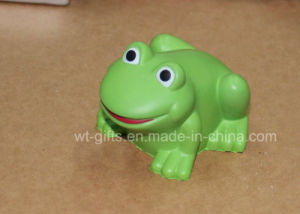 Customized Frog Shape Stress Toy for Kids