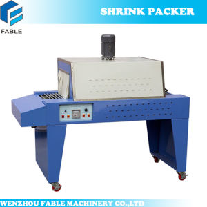 Semi-Auto Bottle PVC Film Shrink Wrapping Machine (BS350) pictures & photos
