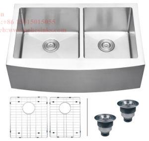 Farmhouse Kitchen Sink, Stainless Steel Sink, Sink, Handmade Sink pictures & photos