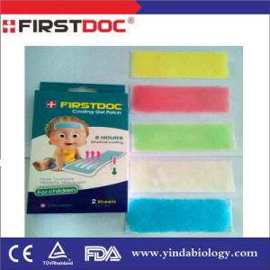 Cooling Gel Patch Instant Physical Fever Reducing Menthol for Children Fever Reducing pictures & photos