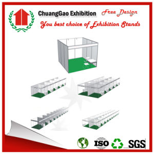 3*3*2.5m Standard Exhibition Booth Modular Exhibition Stand Shell Scheme Kiosk Booth Trade Show Booth Fair Booth pictures & photos