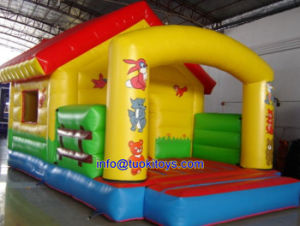 Double Stitching Inflatable Bouncer for Party and Events (A125) pictures & photos
