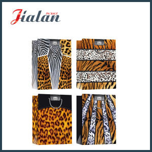 Fashion Paper Gift Bag with Printed Tiger or Leopard Skin pictures & photos