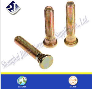 Grade 10.9 SGS Wheel Hub Bolt with Yellow Zinc pictures & photos