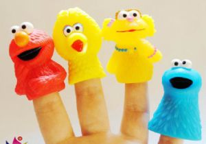 High Quality Funny Plastic Finger Toys