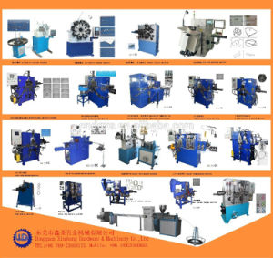 Automatic Poly Cord Strapping Wire Buckle Making Machine pictures & photos