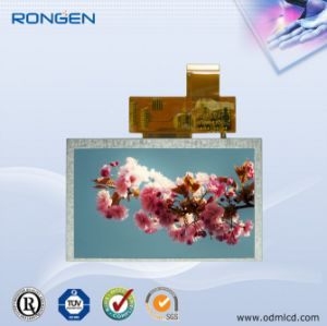 Rg050ctt-02 5 Inch TFT LCD Screen 800X480 Door Phone LCD Display pictures & photos