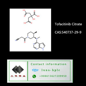 Pharmaceutical Ingredient 540737-29-9 Vortioxetine Tofacitinib Citrate pictures & photos