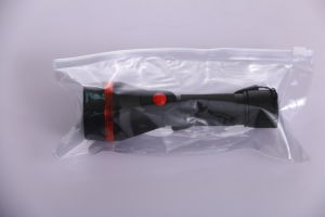 2AA Batteries Powered Plastic LED Torch with Tied Rope Flashlight pictures & photos