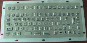 Waterproof IP65 Mini Metal Kiosk Keyboard (KMY299I-3) pictures & photos