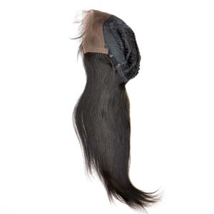 Malaysian Virgin Hair Front Lace Wigs (26Inch-Straight) pictures & photos