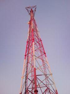 Communication Three Tubular Tower