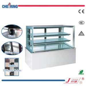 Ce Approved 1.2m1.5m1.8m Stainless Steeel Cake Shop Showcase pictures & photos