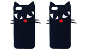 Cat Silicone Cartoon Cat Phone Case for Samsung Galaxy J5 J7 J710 (XSDW-032) pictures & photos