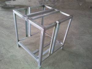 Welded Sheet Metal Rack Customized Industry Fabrication pictures & photos