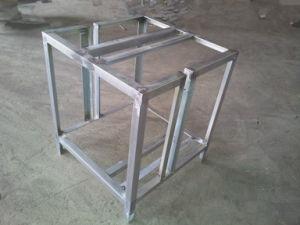 Welded Sheet Metal Rack Customized Industry Fabrication
