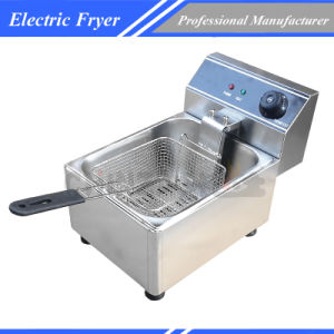 Commercial Stainless Steel Deep Fryer W Single Basket Bench Top pictures & photos