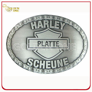 Fashion Design Embossed Metal Belt Buckle for Souvenir pictures & photos