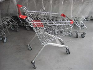 Shopping Trolley Manufacturers Shopping Trolley Price Shopping Trolley Smart Cart (YD-T4) pictures & photos