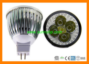 9W MR16 Warm White LED Spotlight with Certificate pictures & photos