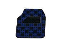 Carpet Car Mat Flat Foot Pad Check Pattern pictures & photos