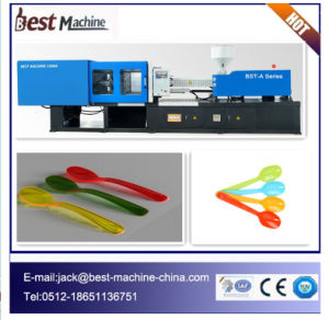 Customized Simple and Easy Plastic Spoon Making Machine pictures & photos