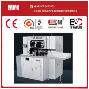 Three -Knife Paper Cutting Machine (QS380B) pictures & photos