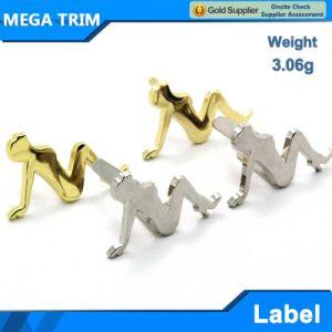 3.6g High Quality Handbag Logo Metal Plate Tag for Bag pictures & photos