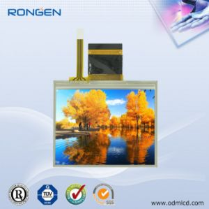 Rg-T350mlqz-01p 3.5 Inch TFT LCD with Touch Screen Display pictures & photos