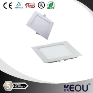 3/4/6/9/12/15/18/24W Ultra Thin Hottest Square Round LED Panel Light pictures & photos