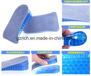Silicone Soft Adjustable Height Increase Insoles pictures & photos