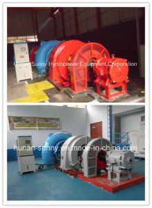 Hydro (water) Francis Turbine - Generator Sfw-3200 High Voltage 6.6kv / Hydropower Alternator/ Hydroturbine Generator pictures & photos