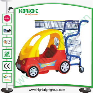 Shopping Mall Children Shopping Cart with Baby Seat pictures & photos