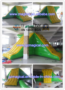 Exciting Inflatable Jumping Platform Slide Inflatable Water Sport Games (RA-1039) pictures & photos